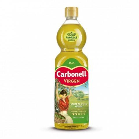 ACEITE CARBONELL OLIVA VIRGEN BOTELLA 1L