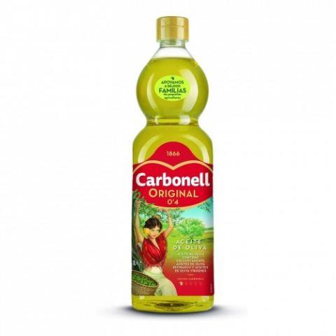 ACEITE CARBONELL OLIVA SUAVE 0,4º BOTELLA 1L