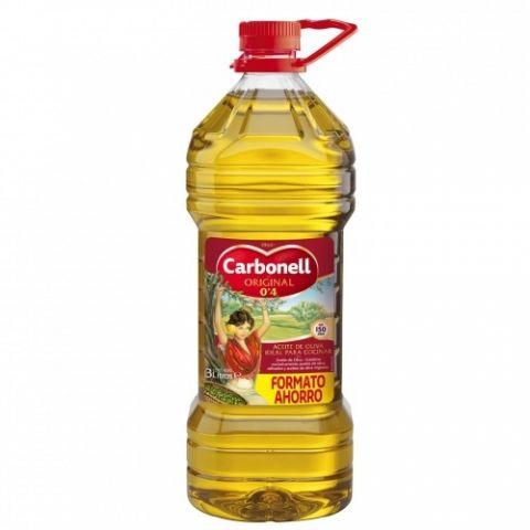 ACEITE CARBONELL OLIVA SUAVE 0,4º GARRAFA 3 L