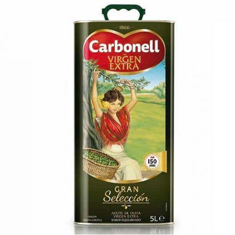 ACEITE CARBONELL OLIVA VIRGEN EXTRA LATA 5L